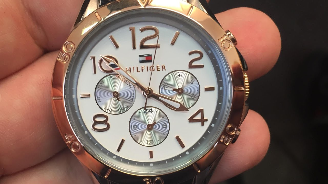 Hands-on TOMMY HILFIGER 1781525 - YouTube ff338b4bcb2