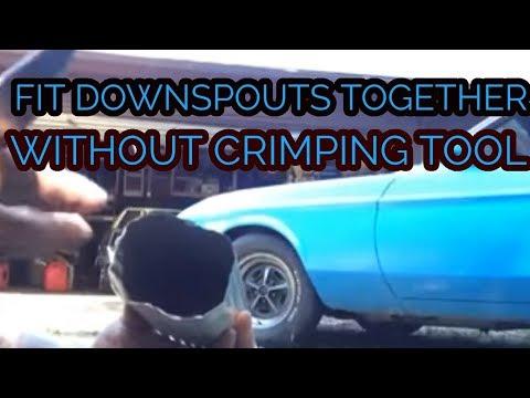 Downspout Elbow Machine Elf Doovi