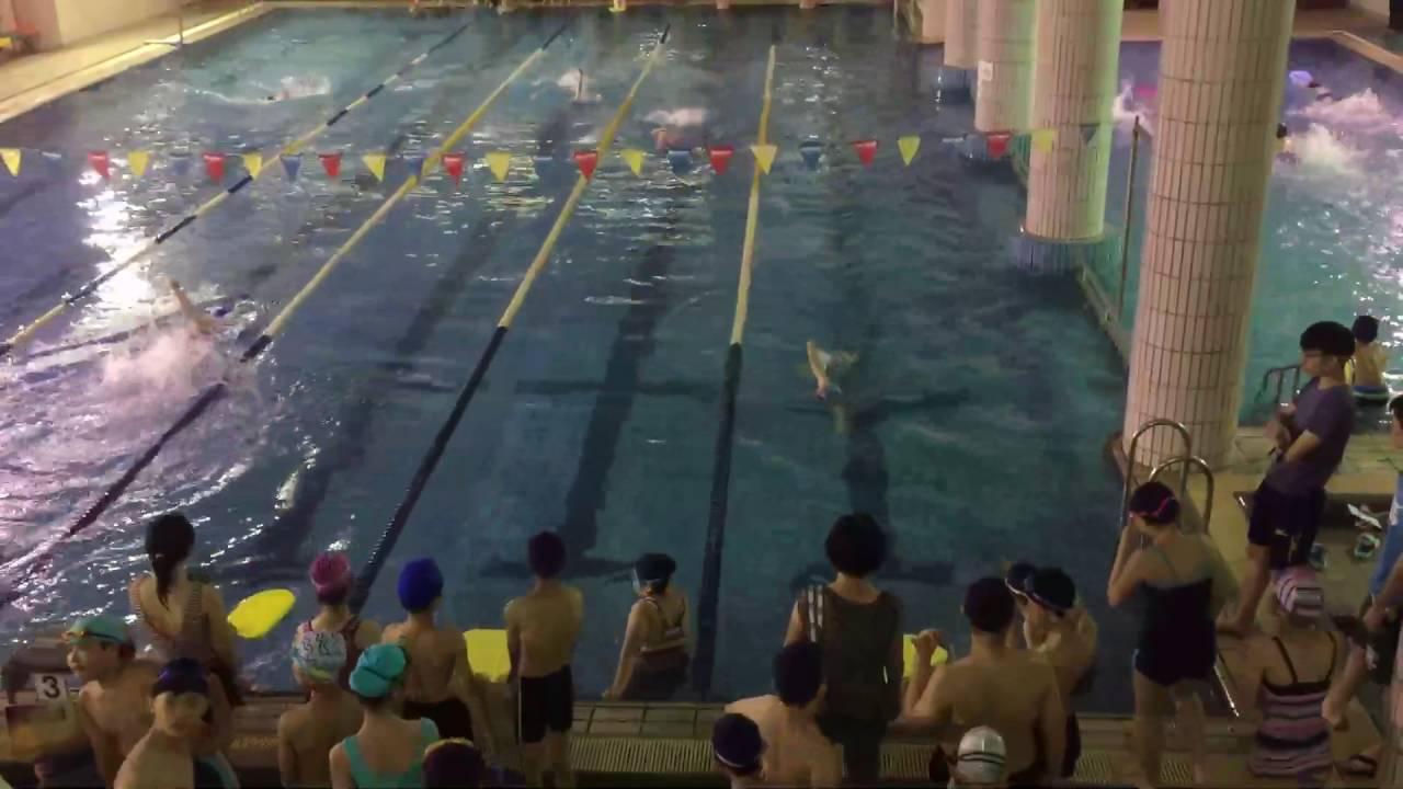 2016-0526 板橋重慶國小游泳比賽 607 第一水道 - YouTube