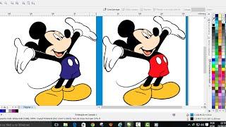 CorelDraw X6, Como Transformar uma imagem em vetor de forma automática rápida