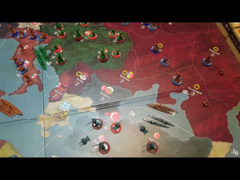 Axis and Allies 1914 Central Powers Strategy
