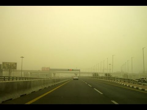 Sandstorm disrupts air traffic in Dubai