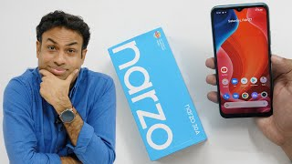 Realme Narzo 30A Budget Smartphone Unboxing & Overview