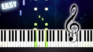 Flea Waltz - Flohwalzer - EASY Piano Tutorial by PlutaX