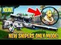 NEW UPDATE!! *SNIPERS ONLY GAME MODE* (Fortnite Battle Royale)