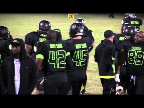 Galveston County Monarchs 18 vs Pasadena Dark Knights 16