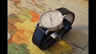 Часы Stowa Antea 390 - Made in Germany Bauhaus Watch