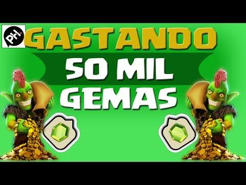 Clash of Clans - Gastando 50.000 gemas (2014)