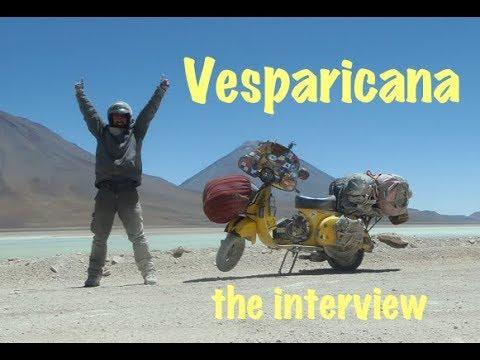 Vesparicana - Probably The Toughest Trip On A Vespa Ever Made!