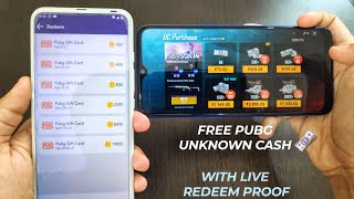 HOW TO GET FREE PUBG UC | INSTANTLY IN PUBG ACCOUNT | WITH LIVE REDEEM PROOF screenshot 2