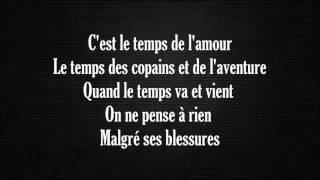 Françoise Hardy Le Temps De L Amour Lyrics Paroles Youtube