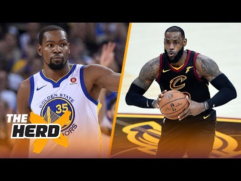 Is Kevin Durant better than LeBron James right now?   THE HERD