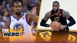 Is Kevin Durant better than LeBron James right now? | THE HERD