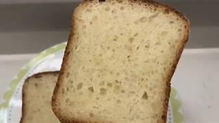 Хлеб без замеса Белый дрожжевой хлеб Вкуснейший белый хлеб