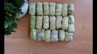 Голубцы с пекинской капустой. Очень простой рецепт!