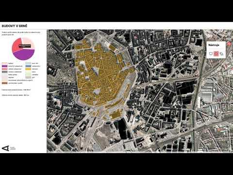 Budovy Brna V Interaktivní Mapě