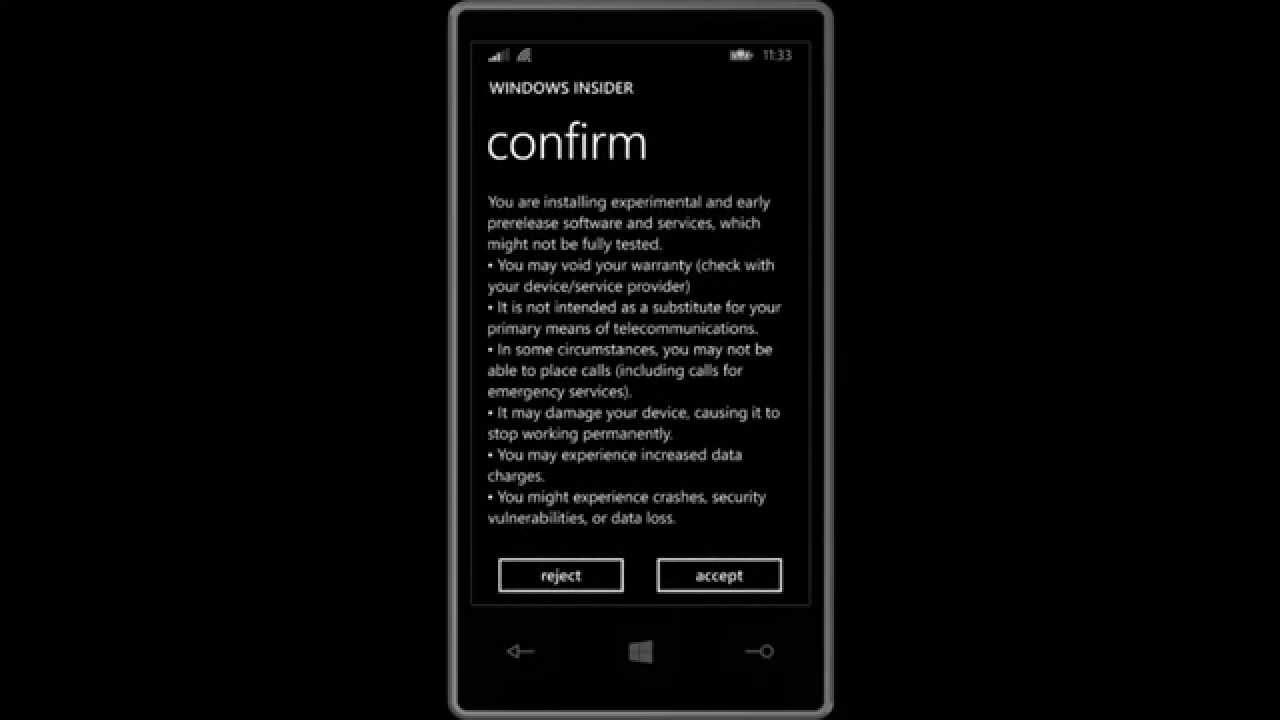 Windows phone 10 data - Preparing Lumia 925 For Windows Phone 10