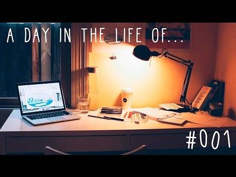 DAY IN THE LIFE #001 — FREELANCE ILLUSTRATOR