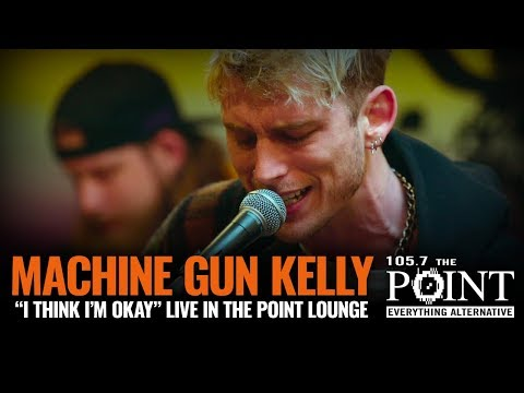 Machine Gun Kelly - I Think I'm OKAY (LIVE) Intimate Point Lounge Performance