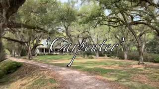 'Carpenter' original by Ken Freeman