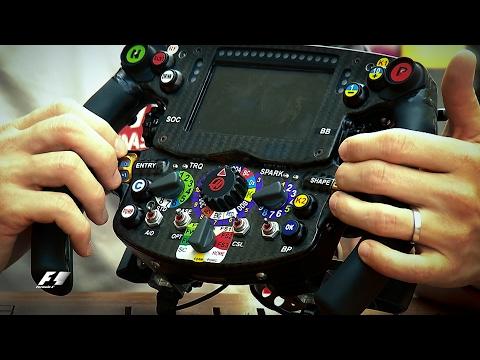 F1 Steering Wheel: Romain Grosjean's Guide