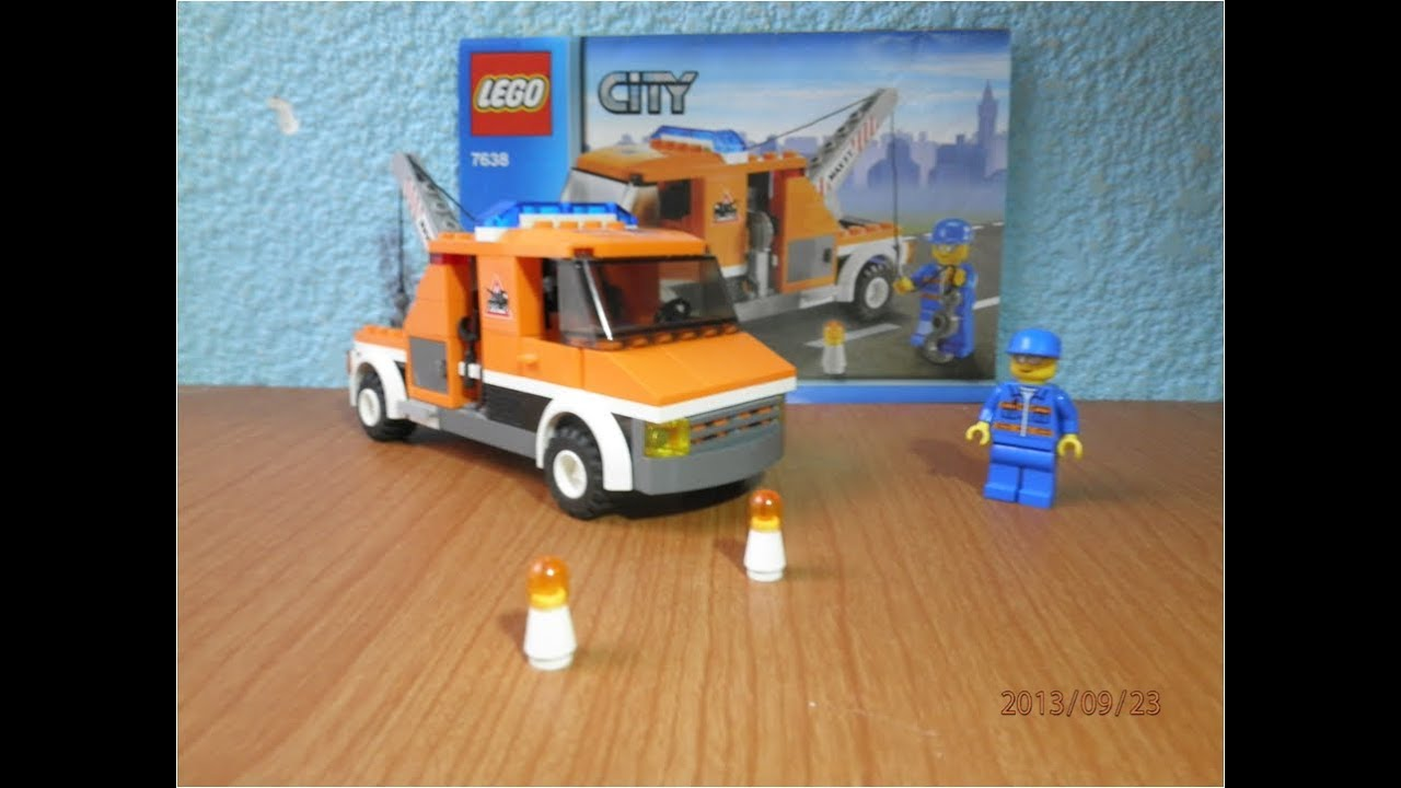 Lego City Set 7638 Tow Truck - YouTube