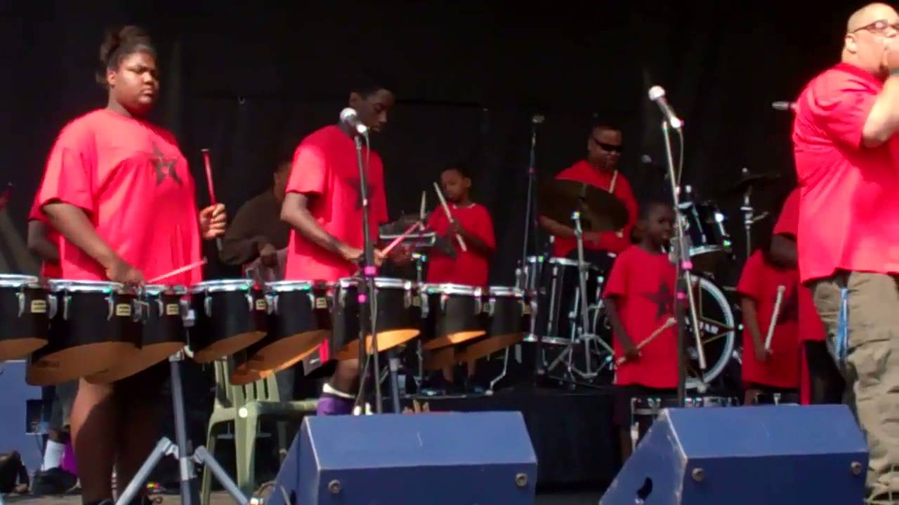 Black Star Drum Line at  Willy Street Fair 9/16/12