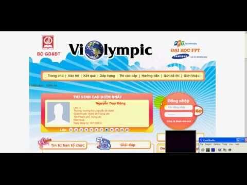 thi Violympic 300 điểm trong 3 giây( kỷ lục) ngày 2/1/2013
