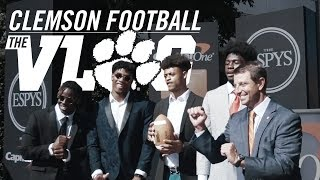 Clemson Football    The Vlog (The 🐅 Head to the ESPYS)