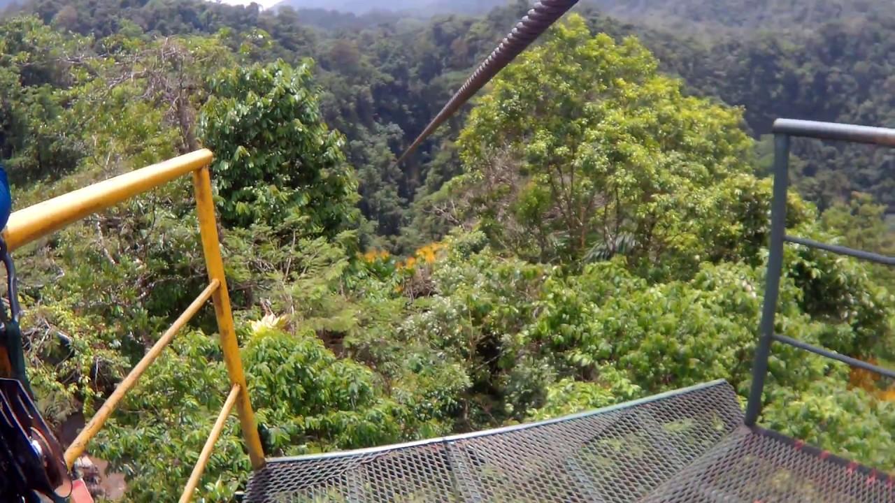 Canopy zipline costa rica mundo aventura volcan arenal la fortuna & Canopy zipline costa rica mundo aventura volcan arenal la fortuna ...
