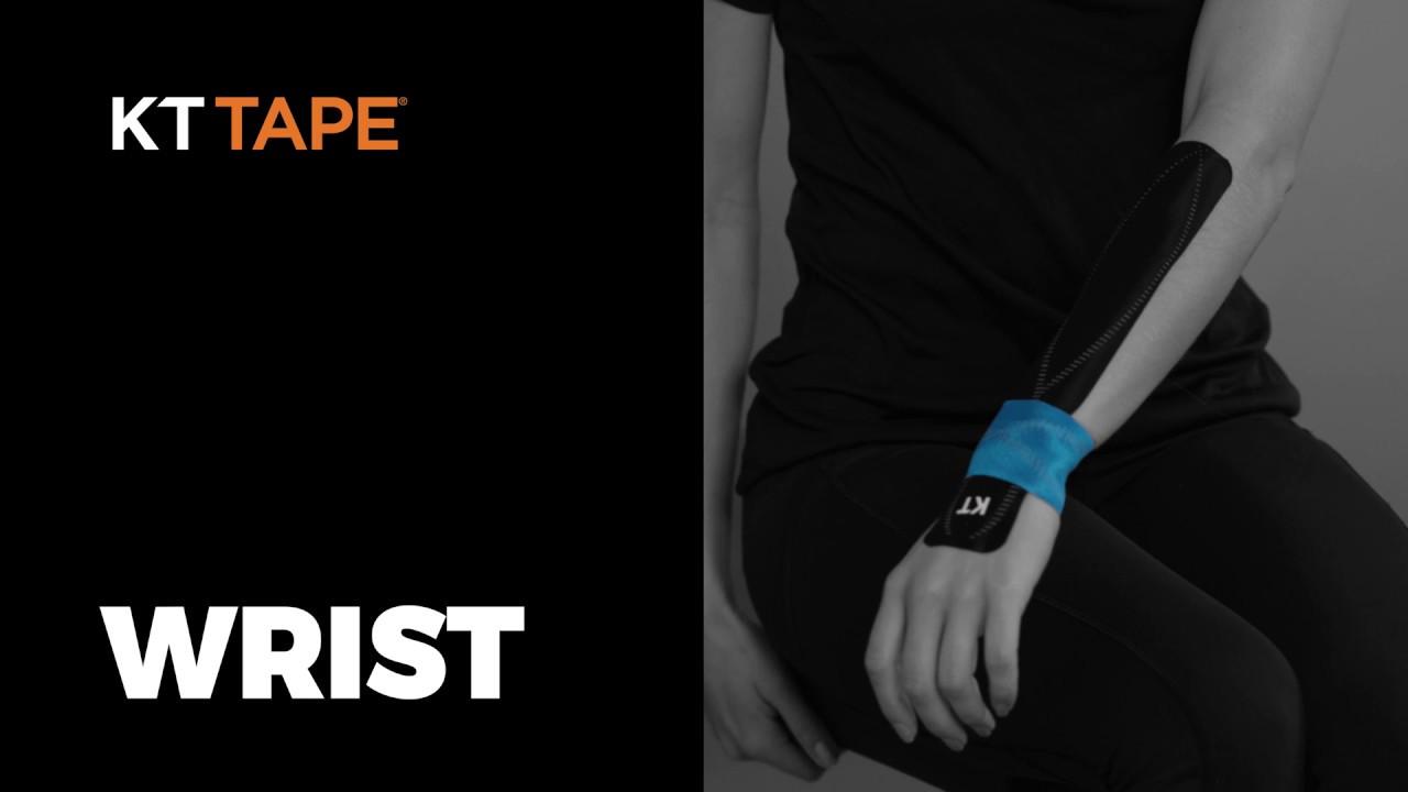 ef8ec79006b How to Wrap a Wrist with KT Tape