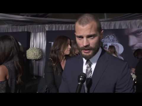 Jamie Dornan - Fifty Shades Darker LA Premiere Interview