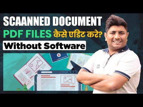 How To Edit Scanned Document In Word | Edit PDf Files Without Any Sofware |Hindi