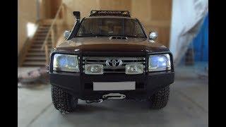 Антикоррозийная обработка Toyota Land Cruiser 105
