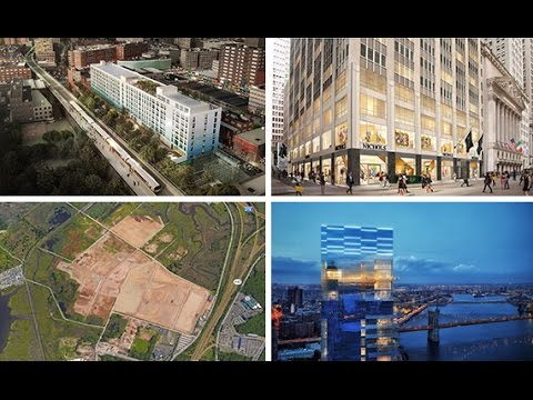 From TRD's 2017 DataBook: Top New York architects by square footage of projects filed in 2016