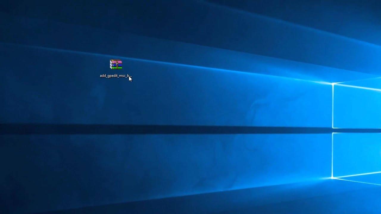 Windows 10 Gpedit.Msc Fehlt