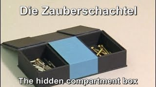 Zauberschachtel / Hidden Compartment Box