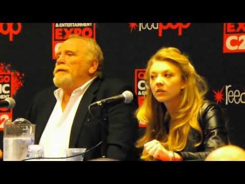 Game of Thrones panel at C2E2 2013 with James Cosmo and Natalie Dormer! Starks FTW!