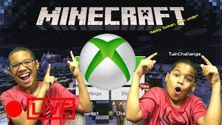 Minecraft on XBox Skywars Gameplay | Cubecraft Server