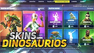 *SKINS DINOSAURIOS* CAMPANA CALL STORE FORTNITE January 23