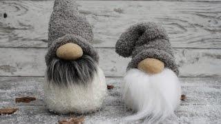 Socken- Wichtel ganz leicht basteln - How to make a Sock Gnome
