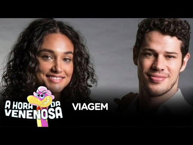 Débora Nascimento e José Loreto teriam viajado juntos