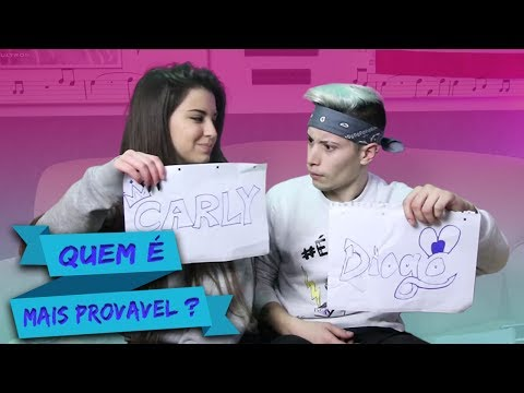 QUEM É MAIS PROVAVEL DE TRAIR?  c/Carly Santos