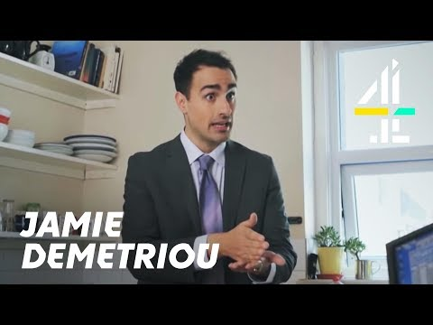 Jamie Demetriou | Episode 1: Stath - Letting Agent | Comedy Blaps