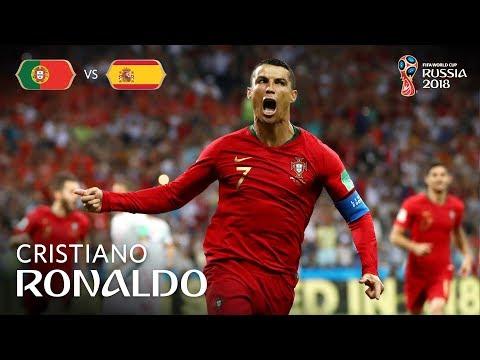 Cristiano RONALDO Goal 1 - Portugal v Spain - MATCH 3