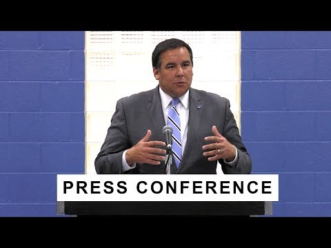 Press Conference: Comprehensive Public Safety Strategy Steps