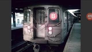(B) via (D) line announcements