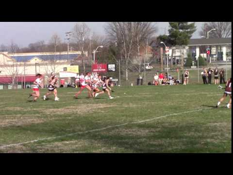 Sydney Lowe of the Park School of Baltimore and TLC '19 wins draw to self vs. Mercy