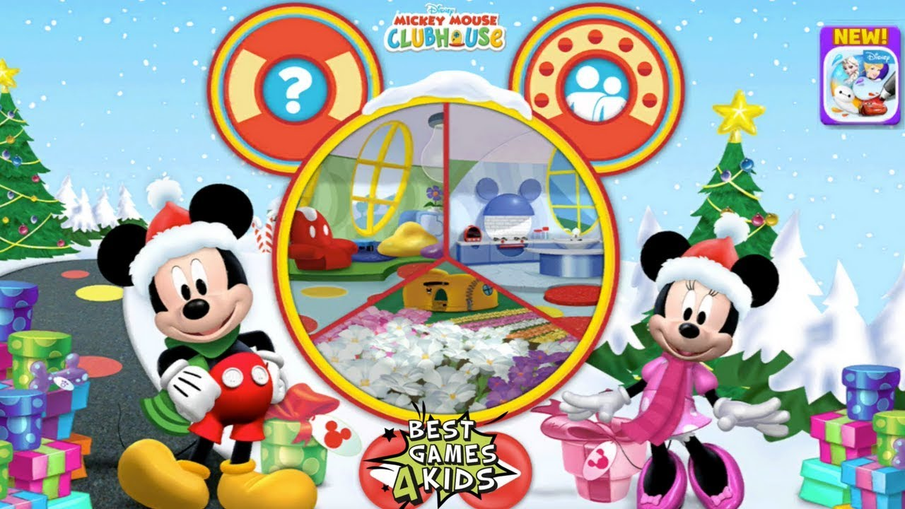 Mickey Mouse Clubhouse - Colour & Play | 3D Colouring Game ...