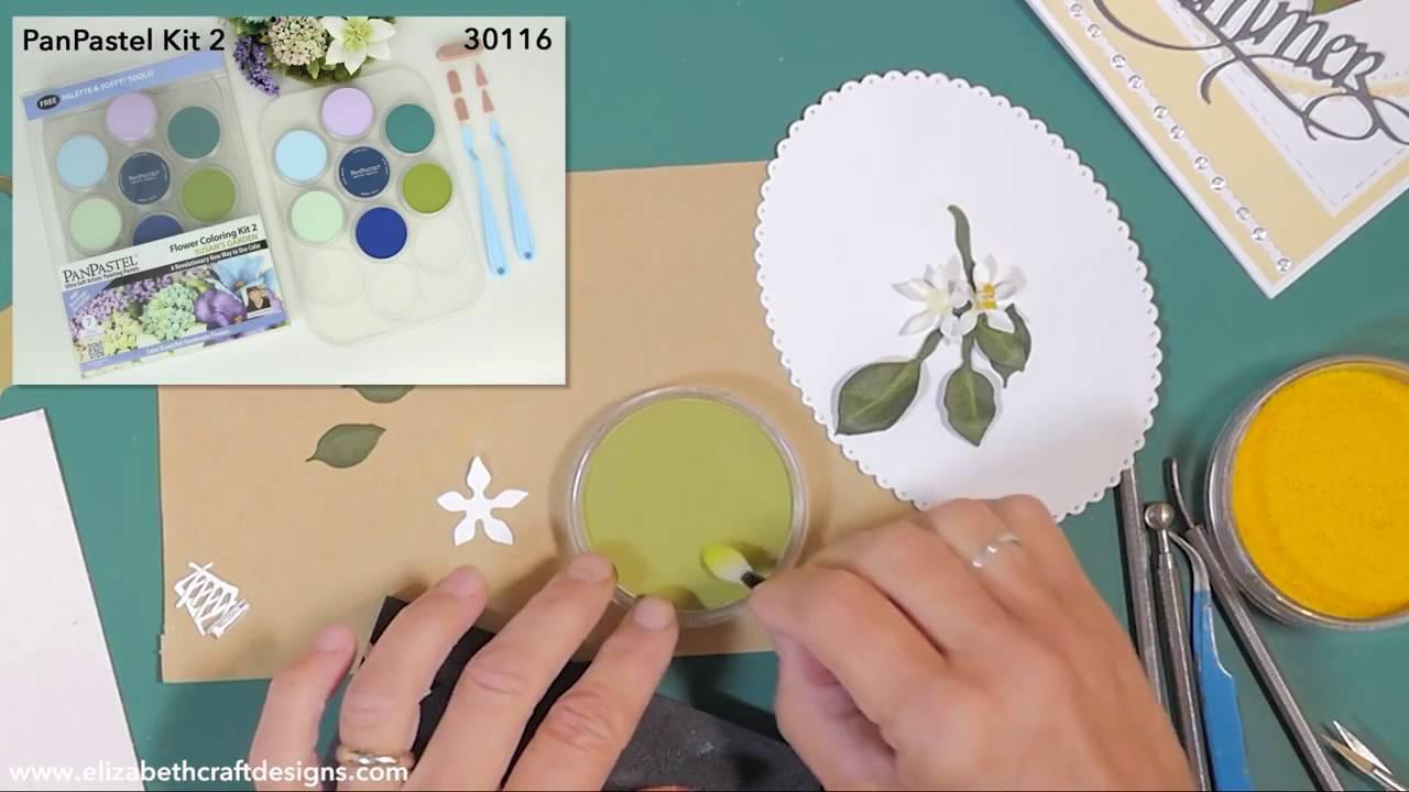 Elizabeth Craft Designs Susan Garden Notes Jasmine Die